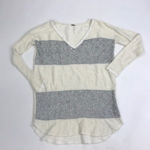 free people v-neck sweater. Size S